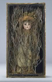 Joseph Cornell, Untitled (Bébé Marie) 3D box art