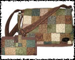 Donna Sharp Handbags and purses: quilted handbags by Donna Sharp.