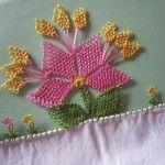 İğne Oyası Bahar Çiçeği Yapılışı