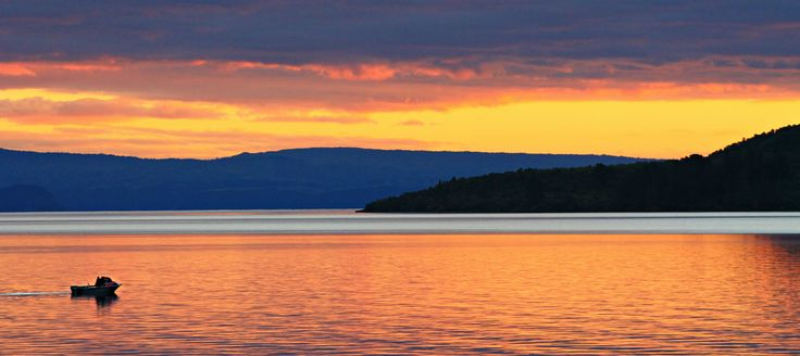 Lake Taupo, New Zealand.  Taken by Tracie Angell.
