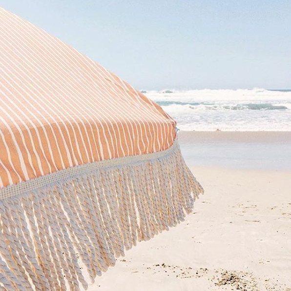 Afternoons with @sundaysupply.co #summer #sundaysupplyco #beachumbrella #salttherapy #ocean #beach
