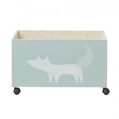 BLOOMINGVILLE - TOY STORAGE BOX WITH FOX