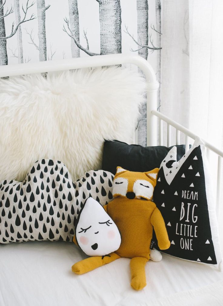 Scandinavian style kids bed