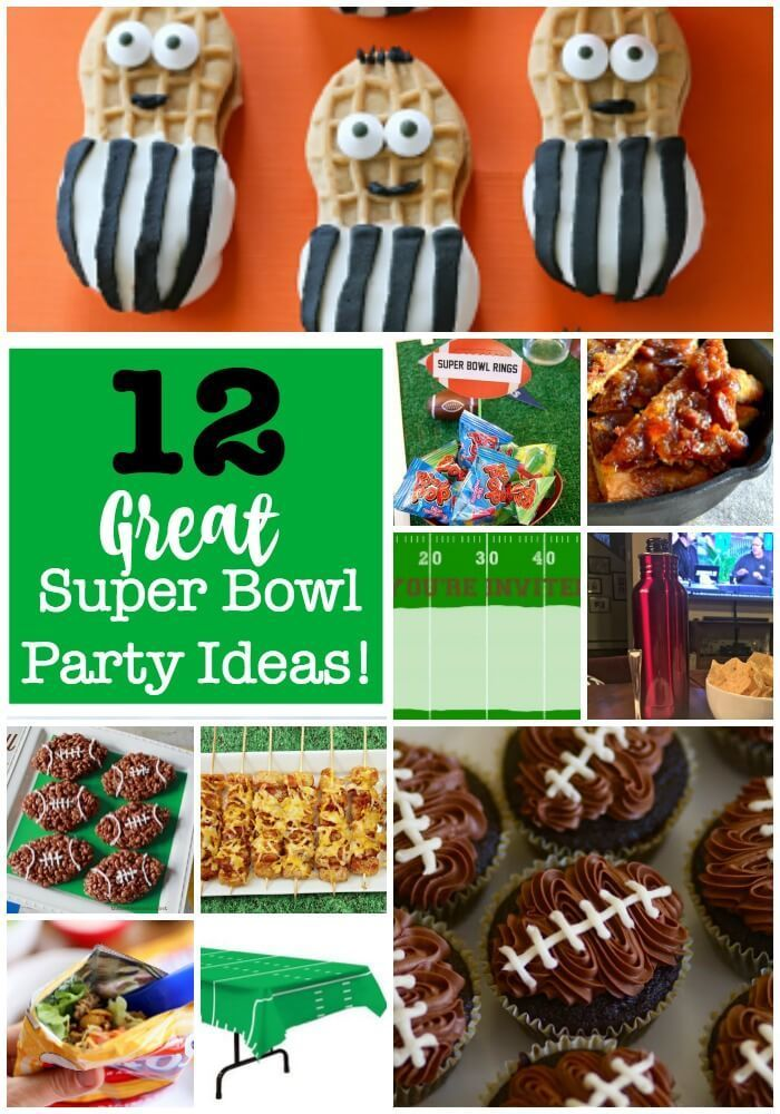 Super Bowl Party Ideas Pinterest