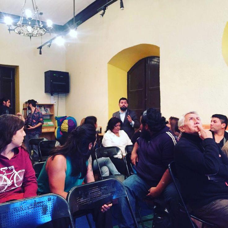 Vecinos de Melipilla participan del foro ciudadano de #StgoesMío