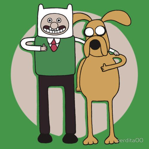 Wallace and gromit adventure time!!