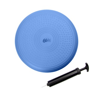 66fit Advanced Wobble Balance Cushion, Pump & DVD - 35cm  $40.00