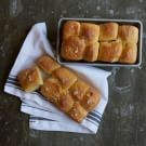 Try the Parker House Rolls with Rosemary Salt Recipe on williams-sonoma.com/