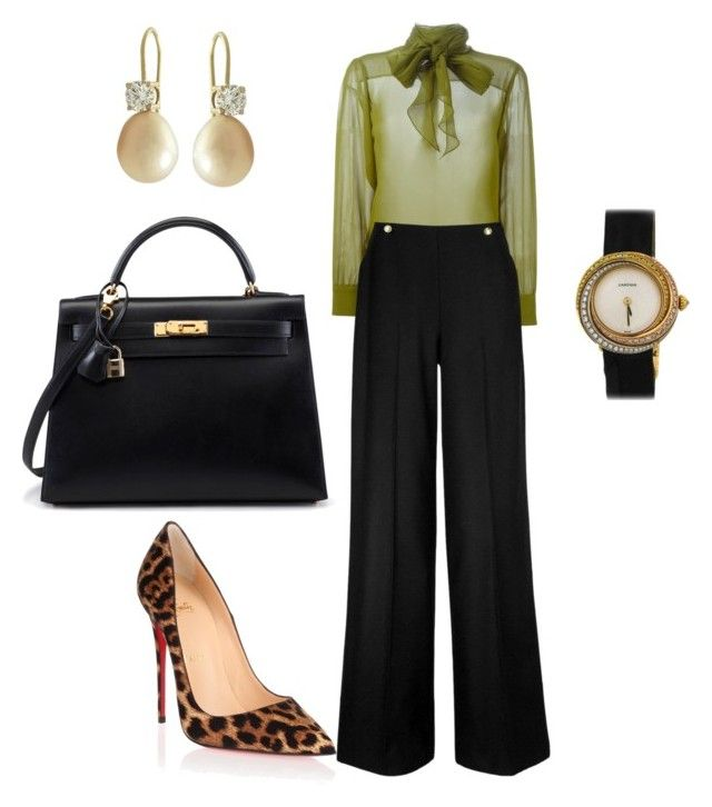 Boss by arta13 on Polyvore featuring polyvore fashion style Gucci L.K.Bennett Christian Louboutin Cartier clothing