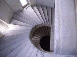 Лестница внутри дома..