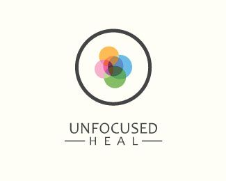 Unfocused Heal Logo design - Unfocused Heal for spa and Healthcare therapy company. Price $325.00
