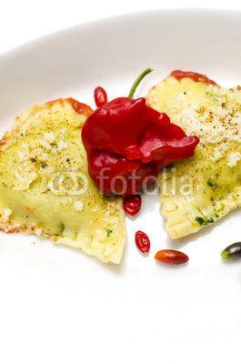 #Cuore di #Ravioli e #Rose di #Peperoncino #sanvalentino