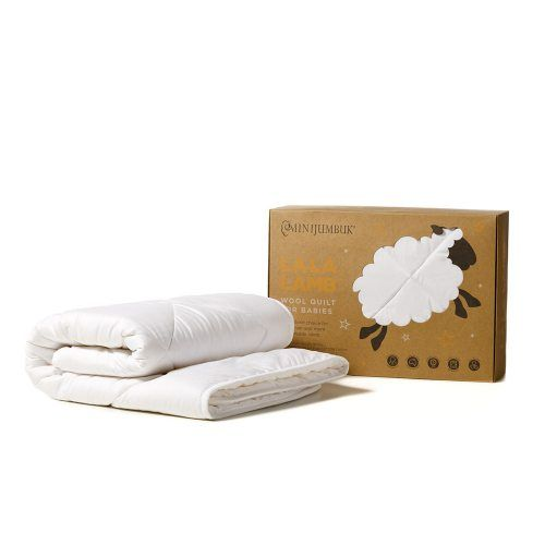 Mini Jumbuk La La Lamb Cot Quilt, cot quilt, cot bedding at adairs