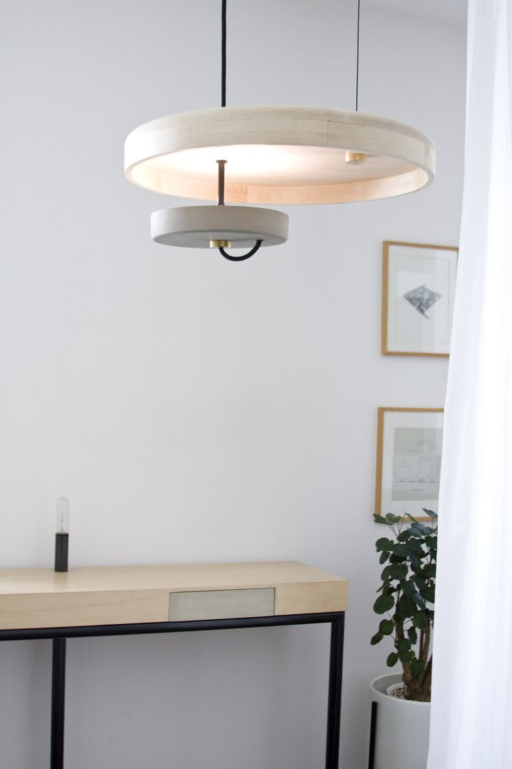 165 best all of the lights images on pinterest light design material cast concrete disc hard maple wood disc product details hanging pendant light fixture made of one maple wood disc and one cast concr arubaitofo Gallery