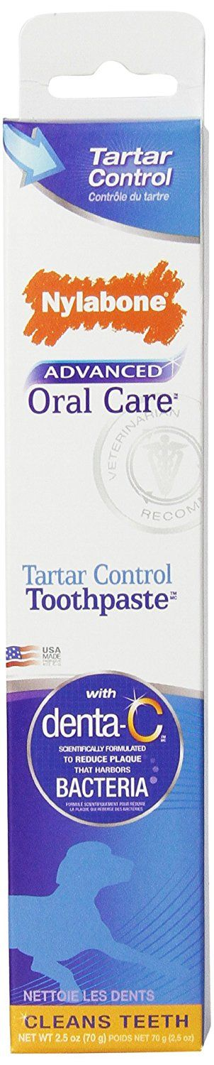 Nylabone Advanced Oral Care 2.5 oz Tartar Control Dog Toothpaste *** Hurry! Check out this great product : Dog Health Supplies