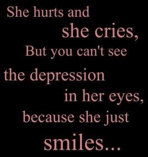 depression hurts......