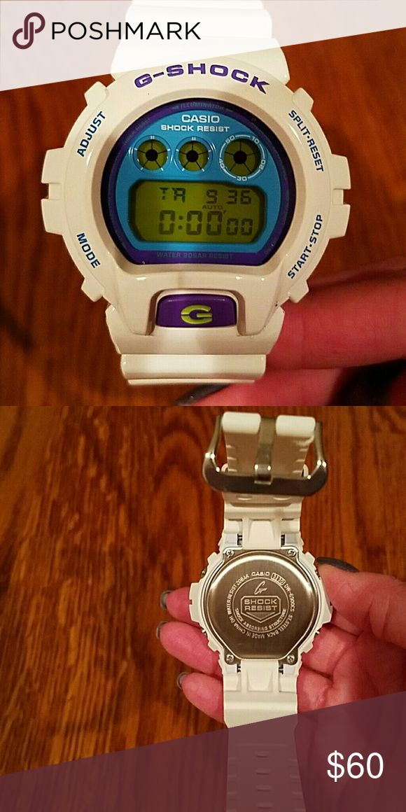 G shock watch G shock watch, larger face. Brand new without tags. Never used. I didn't like how big it looked on me. g shock Accessories Watches