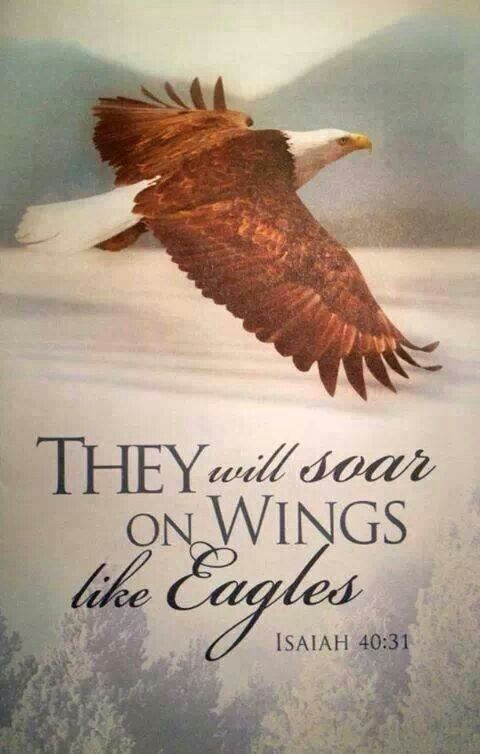 Isaiah 40:29 He gives power to the tired one And full might to those lacking strength. 30 Boys will tire out and grow weary, And young men will stumble and fall, 31 But those hoping in Jehovah will regain power. They will soar on wings like eagles. They will run and not grow weary; They will walk and not tire out