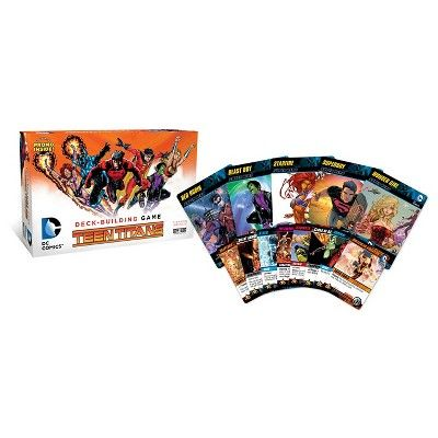 DC Comics Teen Titans Deck-Building Card Game