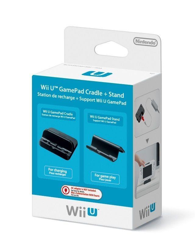GamePad Cradle + Stand Nintendo     WIIU  NUOVO!!!