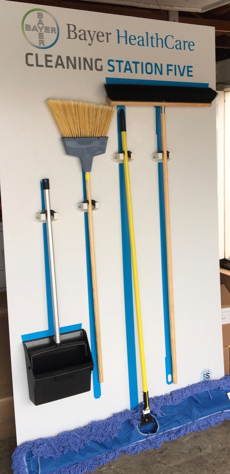 5s Broom Station Cleaning Stations George Kk S Visual