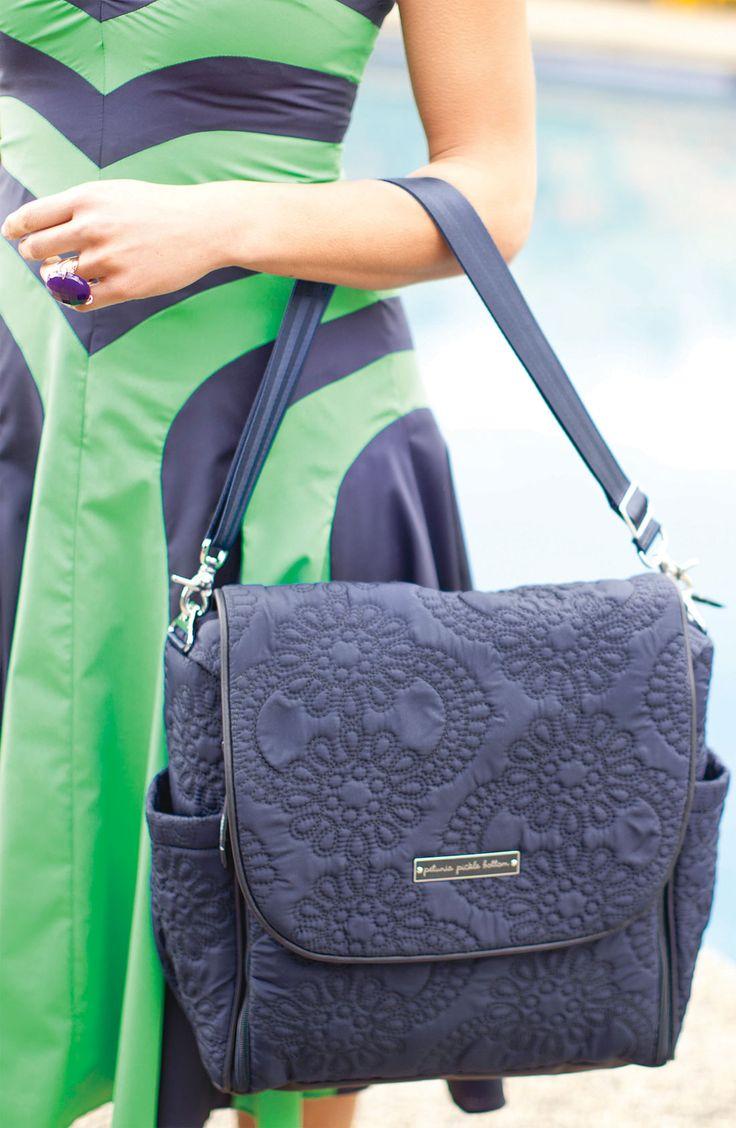 petunia pickle bottom 39 embossed boxy 39 magnetic closure backpack diaper bag colors the o 39 jays. Black Bedroom Furniture Sets. Home Design Ideas