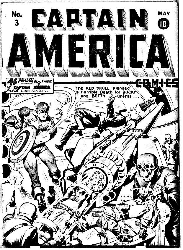 Cover Comics Captain America Books And Comics Coloring