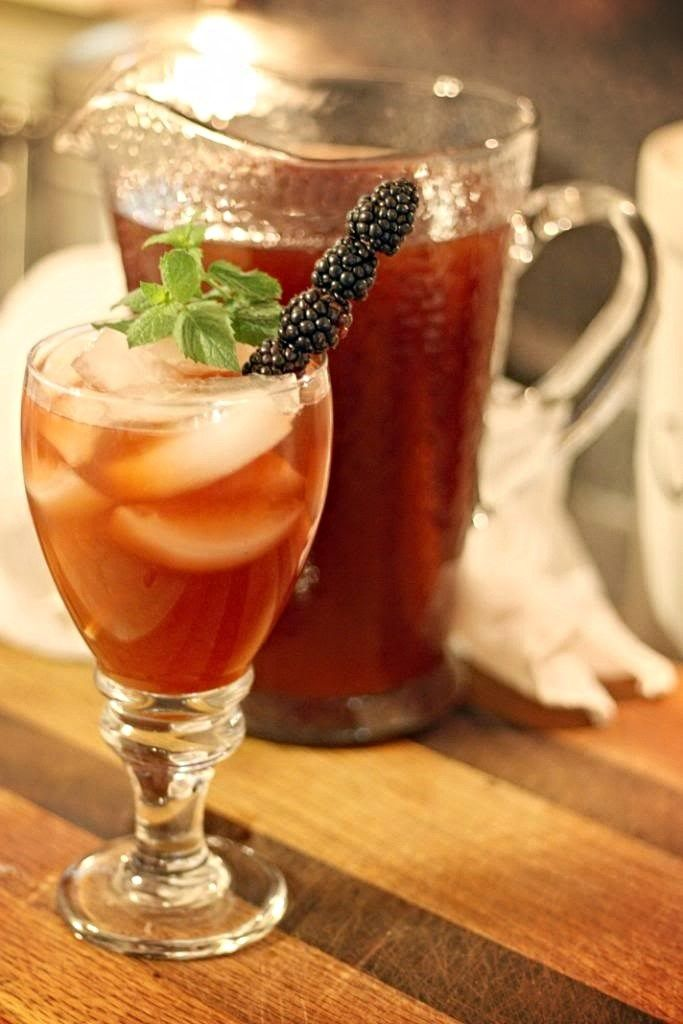 Try this refreshing Blackberry Iced Tea recipe from Jennifer Locklin of Jennifer Cooks. A blackberry infused simple syrup flavors this southern sweet tea recipe.