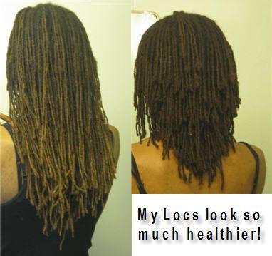 cutting long locs | Loc Cut: Short Layered Style