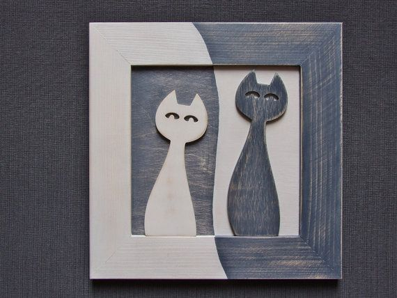 Wall decoration hanging , Picture, Drawing made of wood and plywood, painted with acrylic paints, wipe, and secured matt acrylic paint.  Dimensions