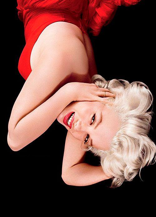Marilyn Monroe by Milton Greene.