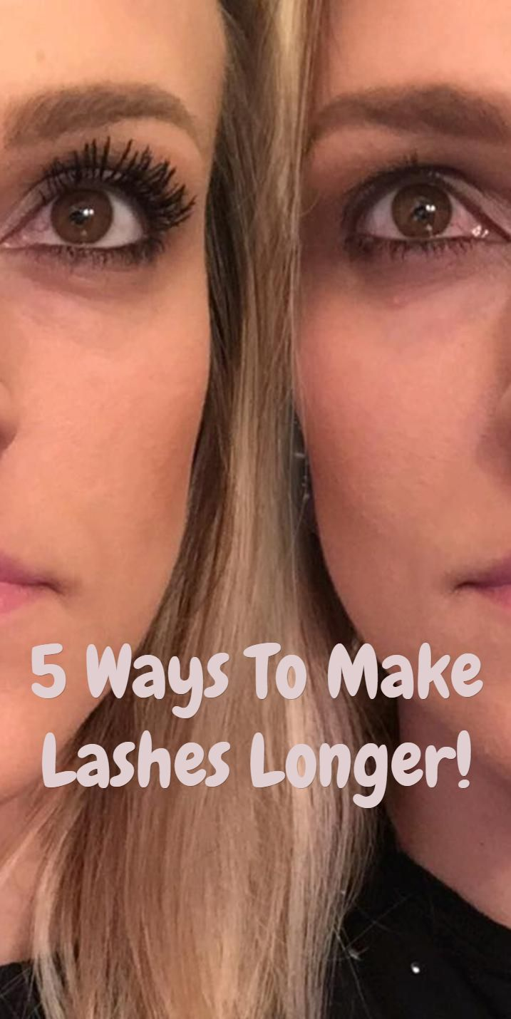 How To Make Eyelashes Longer...5 ways. I definitely will be trying the comb one! I love that idea! #eyelashes #longereyelashes