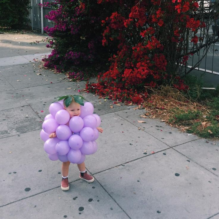 Baby Grape Costume. Courtney Klein.