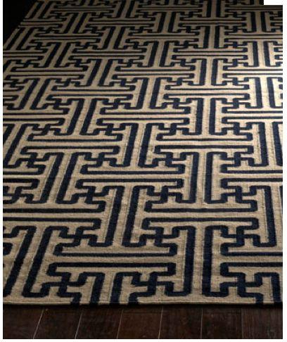 Grecian Tiles Flatweave Rug X Wool