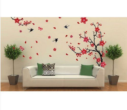 1000 Images About Flower Wall Decals Flower Stickers For Girls Room Windows On Pinterest