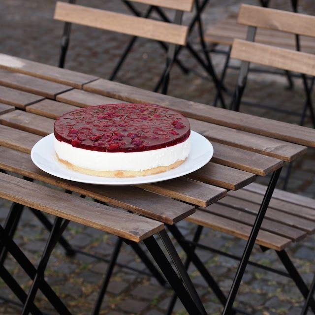 Laskominy od Maryny: Višňový dort z kysané smetany