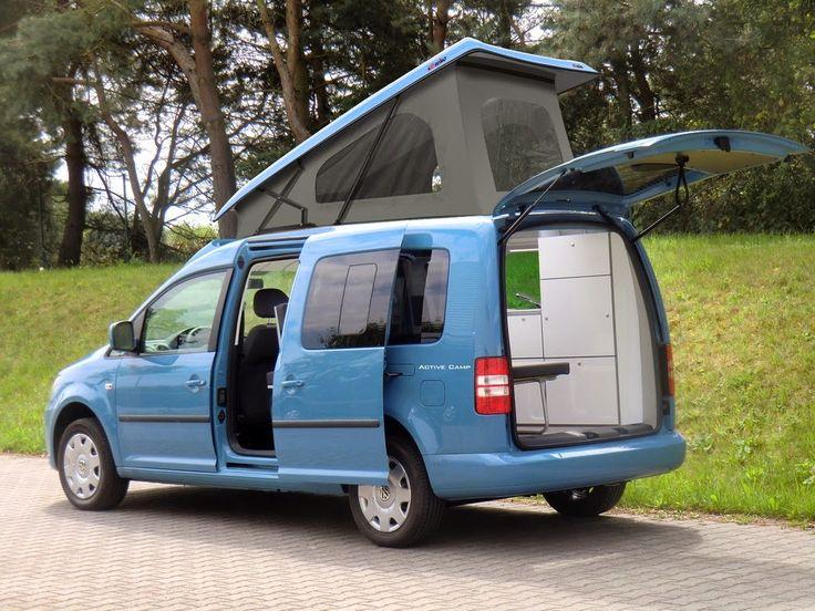 minicamper vw caddy camp maxi campingfahrzeuge aktuell. Black Bedroom Furniture Sets. Home Design Ideas