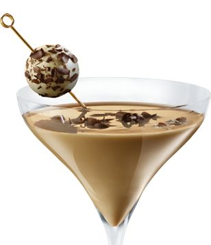 A rich, indulgent experience that satisfies every chocolate lover. See more recipes like these at http://www.godivaliqueurs.com/godiva-chocolate-martini.html