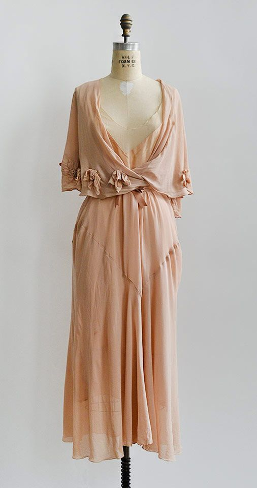 Daphnis et Chloe Dress | vintage 1930s dress from Adored Vintage