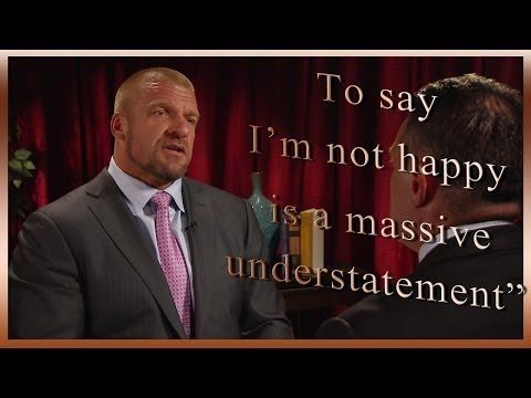 Triple H Talks to Michael Cole about Roman Reigns getting MITB spot. #WWE #Wrestling