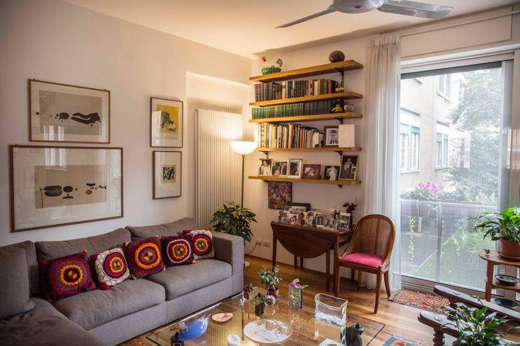 Living Room of an Apartment - Villaggio Olimpico - Roma
