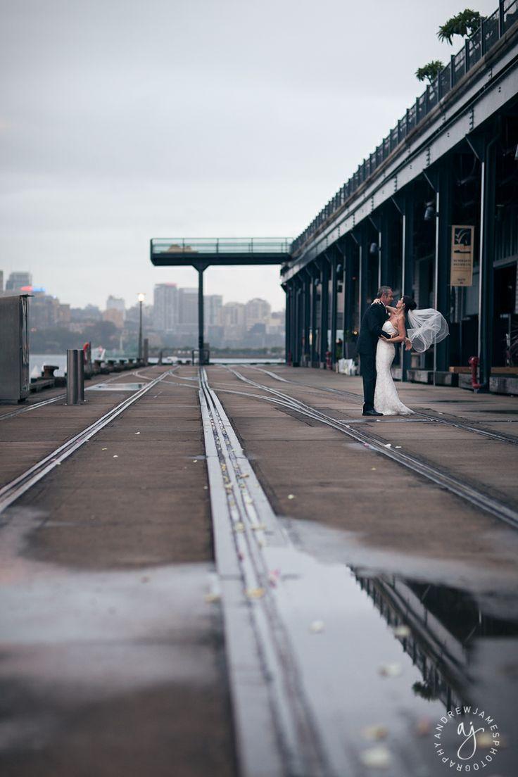 Wedding Photography at Jones Bay Wharf