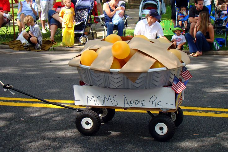 When it comes to the 4th of July, riding in the kiddie parade is as much of a tradition as the big firework show at the end of the day. With a little imagination and a few supplies, you can deck out your kids' wagons, bikes, and trikes for the biggest and best birthday bash of the year. Get inspired with the fun and creative ideas we've gathered...