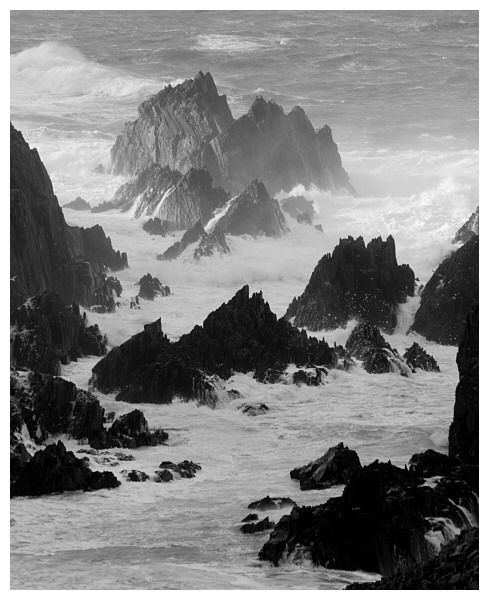 Stormy Channel, Malin Head