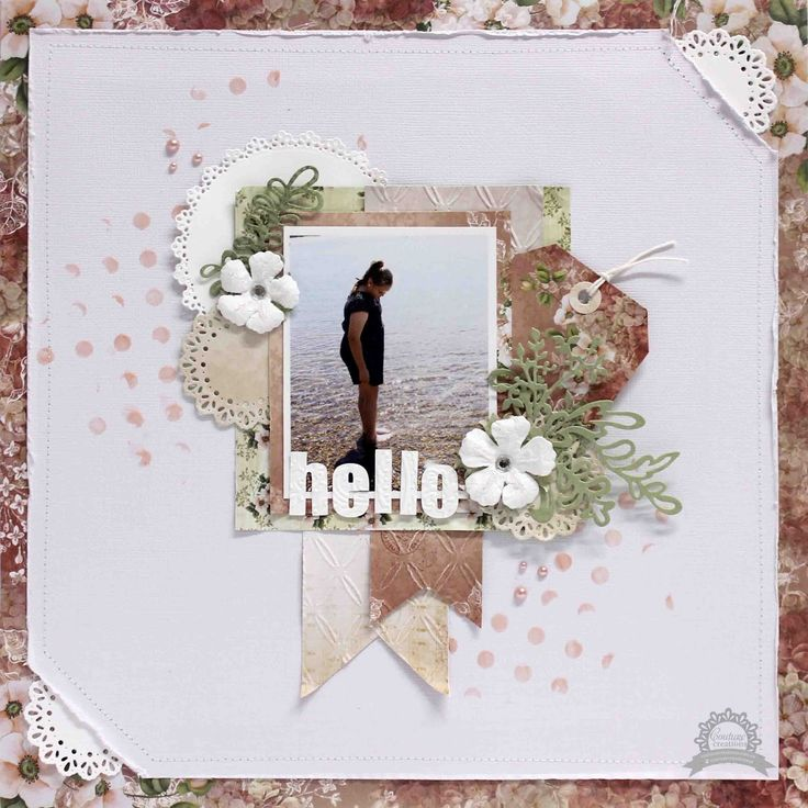 Couture Creations: Hello by Anita Bownds
