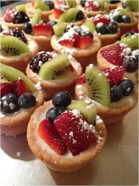 mini fruit tart recipe martha stewart. Black Bedroom Furniture Sets. Home Design Ideas