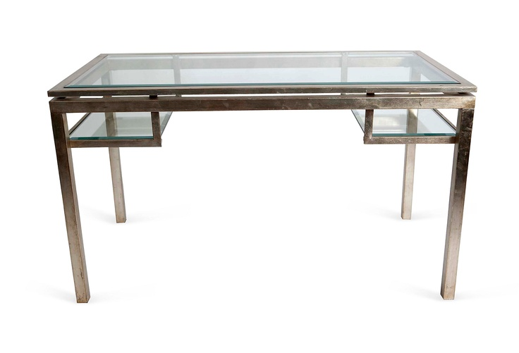 One Kings Lane Vanillawood Convertible Desk Coffee Table Okl Pinterest Products One