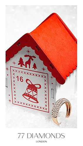 For those on the naughty or nice list, the Il Sole ring is a festive stocking filler. #77Dadventcalendar #adventcalendar #Christmas