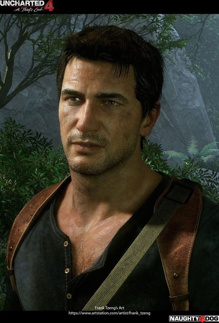 Uncharted 4 - A Thief's End Characters Art dump