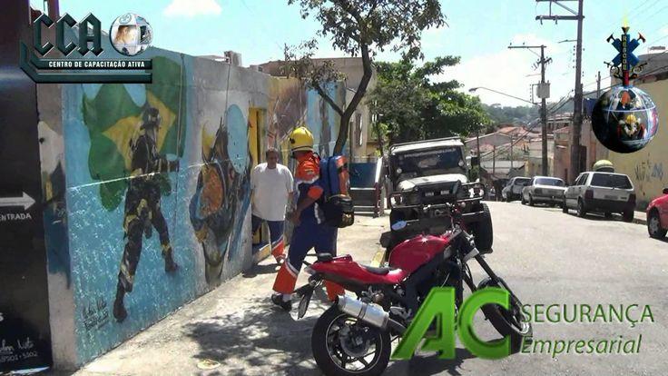 Curso Brigada de Incêndio em Volta Redonda RJ - Treinamento Brigada Ambi...
